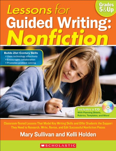 Lessons for Guided Writing: Nonfiction (English Edition)