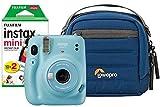 Fujifilm Instax Mini 11 Instant Camera inc 20 Shots & Protective Case - Sky Blue