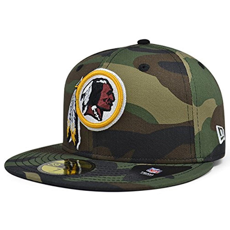 Washington Redskins New Era NFL Woodland Camo 59Fifty Fitted Hat