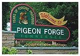 Pigeon Forge, Tennessee, TN, Great Smoky Mountains, Travel, Souvenir, Refrigerator, Locker Magnet 2 x 3 Fridge Magnet