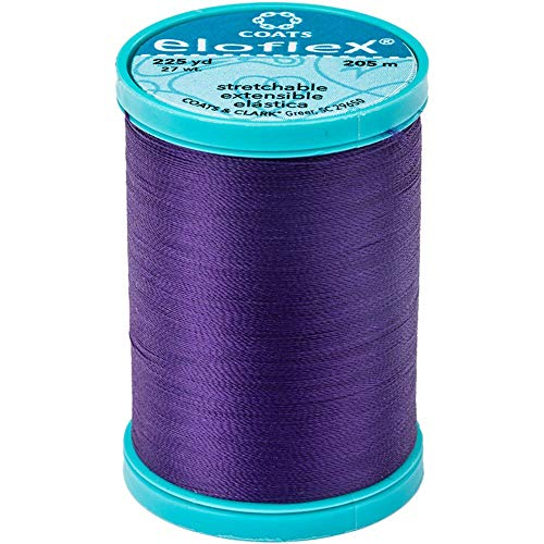 Coats Eloflex Stretch Thread 225yd-purple