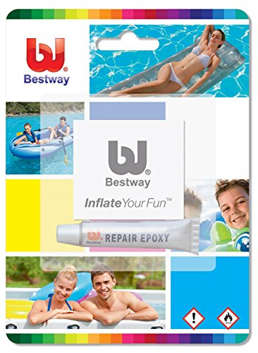 Bestway Repair Kit for Inflatable airbeds, Toys, Pools, lilos etc #62022 by