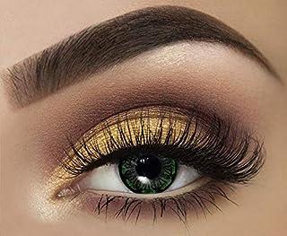 Tutti Cosmetic Monthly Contact Lenses, Green Diamond - unisex