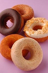 カフェタナカ パティシエの焼ドーナツ 5個入り