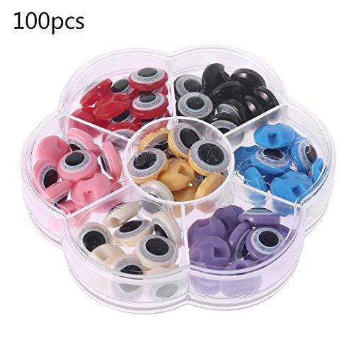 Gjyia 100 Teileschachtel 12,5mm DIY Runde Selbstklebende Wiggly Googly Augen Für Kinder Puppe Spielzeug Wie zeigt. 12.5mm