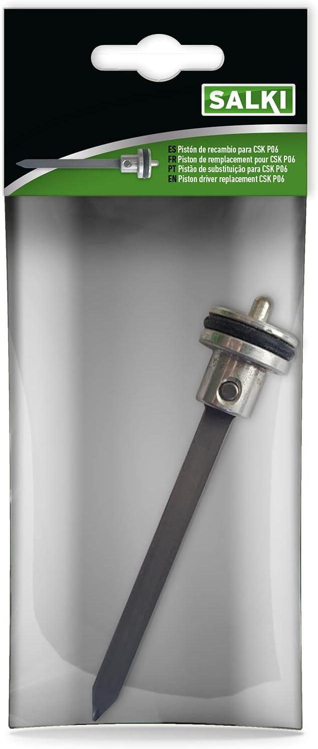 salki Recambio de Pistón y Lengüeta para Clavadora Neumática CSK P06 - Recambio de Accesorios de Pistola de Clavos. Incluye Aro Tórico