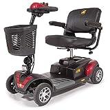 Golden Technologies Buzzaround XL 4 Wheel Power Scooter GB147, Red