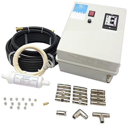S&M 581502 - Kit nebulización, Alta presión, con Bomba, 12 boquillas