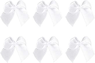 5 cm 12 pezzi colore: nero DIY Wedding Favours auto-adesivo Fiocco in raso
