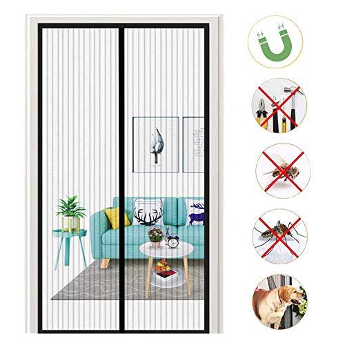 Vliegengaas, met hoge dichtheid, geschikt voor houten deuren, ijzeren deuren 240x240cm(94x94inch)