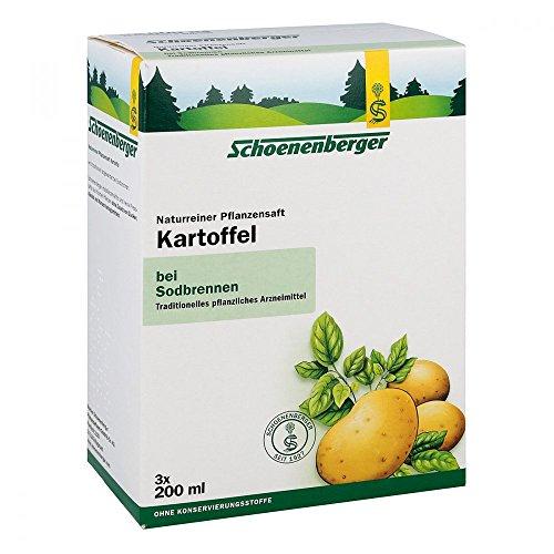 KARTOFFELSAFT Schoenenberger Heilpflanzensäfte 3X200 ml