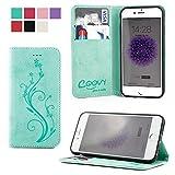 COOVY® Cover für Apple iPhone 6 / 6s Case Wallet Schutz
