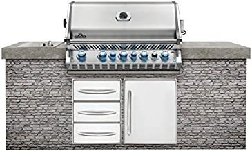 Napoleon Prestige Pro 665 Built-In Grill with IR Rotisserie, Natural Gas