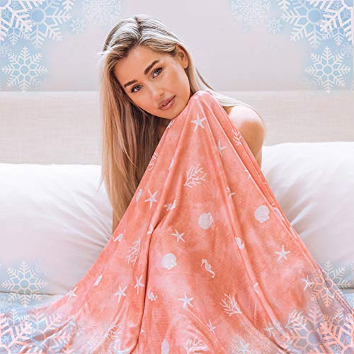 Cooling Blanket with Double Sided Cold, Queen Size Big Oversized Bed Blankets, Lightweight…