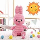 Juguete de Peluche Conejo de Dibujos Animados Juguete de Peluche Lindo Animal de Peluche Conejo Decoración de la habitación del bebé para niños Niños y niñas Regalos de cumpleaños 30cm Rosa