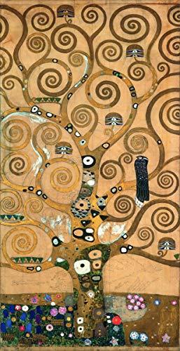 Gustav Klimt Giclee Lienzo Impresión Pintura póster Reproducción Print(Ãrbol de la Vida)