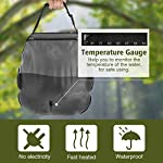 Beaucares Camping Shower Bag, 5 Gallons Portable Solar Camp Shower Bag Perfectly Work with Shower Tent for Camping Beach…