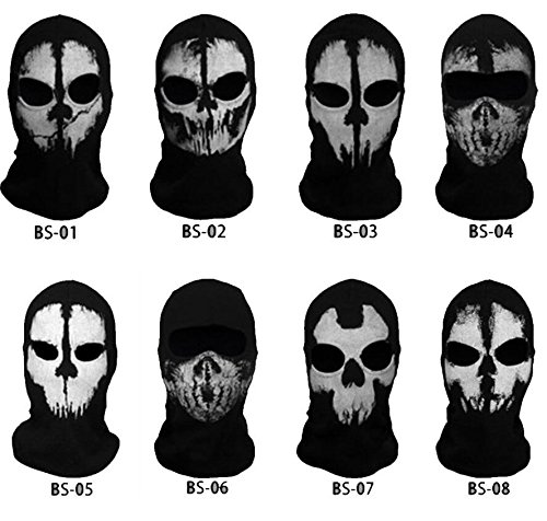 COD Call of Duty Ghost Recon Full SKI FACE MASK...