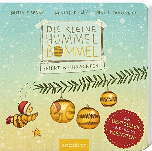Die kleine Hummel Bommel feiert Weihnachten (Pappbilderbuch): Was an Weihnachten wirklich zählt, Kinderbuch ab 3 Jahren