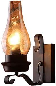 MIAOLEIE Lámpara LED de Pared Industrial Vintage Lámpara de Pared Edision Vintage Lámpara de Pared Lámpara de Brazo Brazo oscilante Simplicidad (una Bombilla incluida) [Clase energética A +]