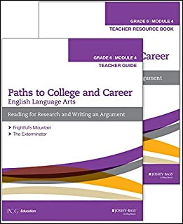 English Language Arts, Grade 6 Module 4: Research, Decision Making, and Forming Positions, Teacher Set