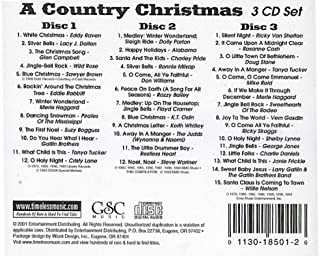A Country Christmas - 3 CD Set