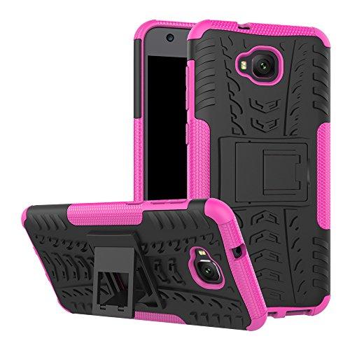 Capa para Asus Zenfone 4 Selfie, capa híbrida para Asus Zenfone 4 Selfie, camada dupla à prova de choque, resistente a impactos, capa rígida com suporte para Asus Zenfone 4 Selfie ZD553KL