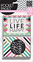 Me & My Big Ideas Pocket Pages Themed Cards 72/pkg-peony Love