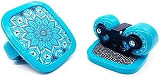Drift Skates, Freeline Skates with 72 mm *43 mm Wheels 7-Layer Thick Maple Wood Surface Non-Slip Wear-Resisting Skates