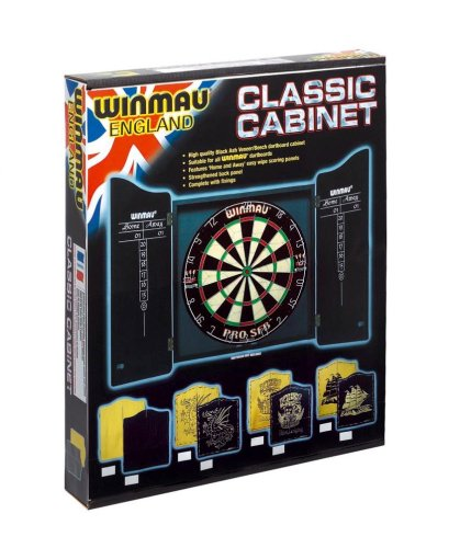 Winmau Klassisches Dartboard Kabinett - 2