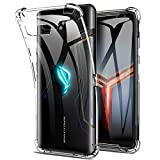 Photo Gallery yocktec cover per asus rog phone 2, ultra-sottile trasparente silicone case in gel tpu, [resistente ai graffi] [shock absorption] custodia per asus rog phone 2 smartphone