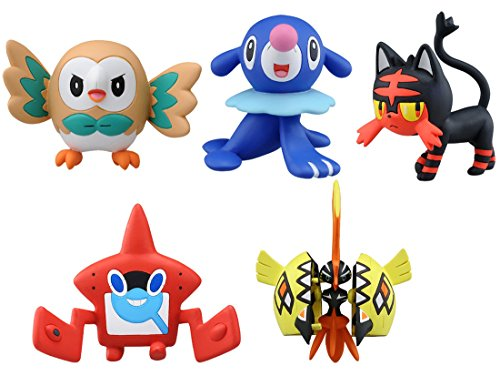 TOMY Pokemon Monsters Collection EX Departure Set image
