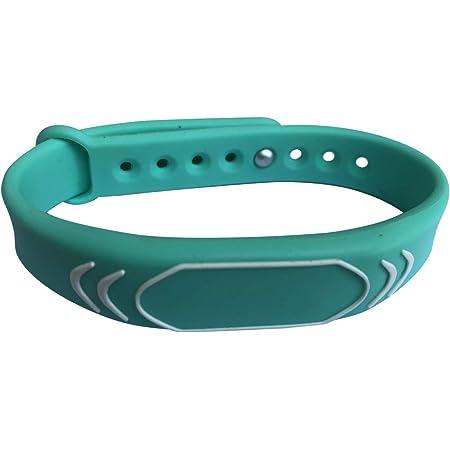 Lot de 5 YARONGTECH 125KHz r/éinscriptible T5577 RFID silicone bracelet Bracelets