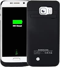 Idealforce Samsung Galaxy S6 Edge Battery Case,4200mAh External Power Bank Cover Portable Charger Protective Charging Case for Samsung Galaxy S6 Edge (Balck)