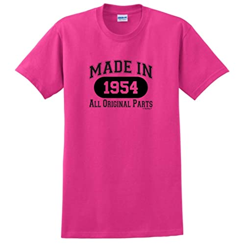 1cb1d86a 65th Birthday Gifts Made 1954 All Original Parts T-Shirt