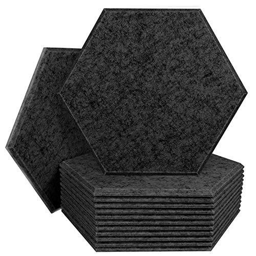 DEKIRU 12 Pack Acoustic Panels Sound Proof Padding, 4.50 x...