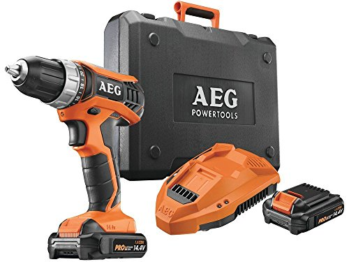 AEG BS 12 G3 li-203 C accu-boormachine met 2 batterijen