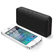 iLuv Bluetooth Speaker, AUD Mini Portable Wireless Bluetooth Speaker with Long Playtime, Loud HD Sound, Handsfree Call, Alexa Support for Phones, Tablets, Computers, Echo Dot, and More