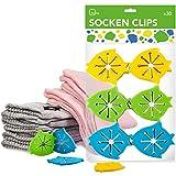 Clips para calcetines con fijación sencilla - paquete familiar de clips de silicona itena (30 unidades)
