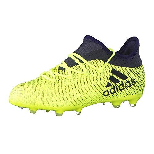 adidas X 17.1 Fg J, Botas de Fútbol Unisex Niños, Amarillo (Amasol/Tinley/Tinley), 38 2/3 EU ⭐