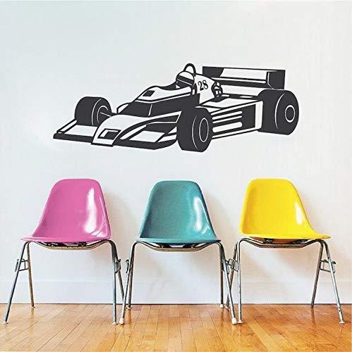 Racing vinyl stickers, wandtattoo, accessoires voor kinderen, decoratie voor huis, woonkamer, slaapkamer, behang, afneembaar
