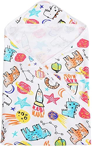 SALUTUYA Toalla de baño para bebé, Material de algodón, Accesorio para baño de bebé Patrones de Dibujos Animados Lindos,(Crabs on Sunny Beach)