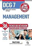 DCG 7 - Management - Fiches de révision - Réforme 2019-2020 - Réforme Expertise comptable 2019-2020 (2019-2020)