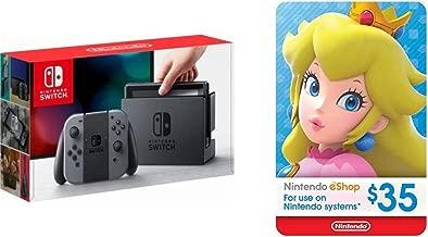 Nintendo Switch - Gray Joy-Con + $35 Nintendo eShop Gift Card [Digital Code]