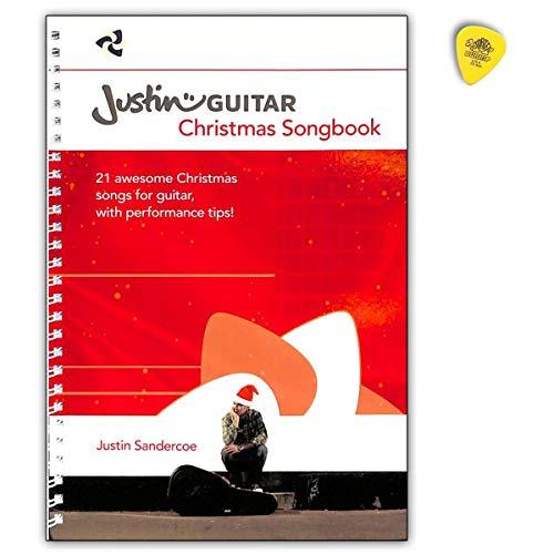 JustinGuitar Christmas Songbook für Gitarre (Text, Akkorde, Gitarrengriffe) - AM1012099 9781785583704