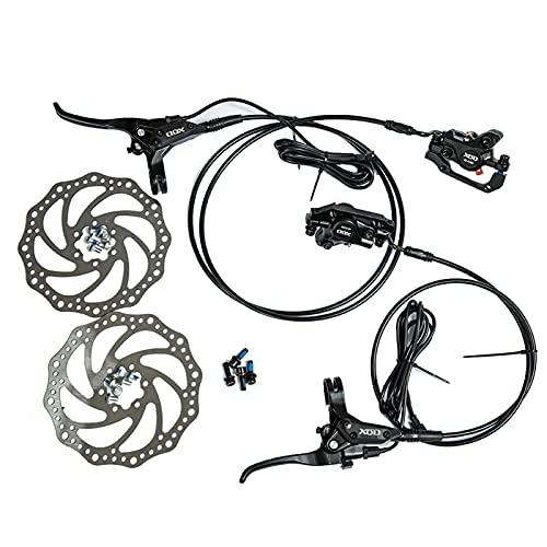 XCYY Freno De Bicicleta 1 Par De Aleación De Aluminio Control Eléctrico De Control De Corriente Bicicleta Bicicleta MTB Freno Conjunto De Frenos (Color : 140mm Disc Plate)
