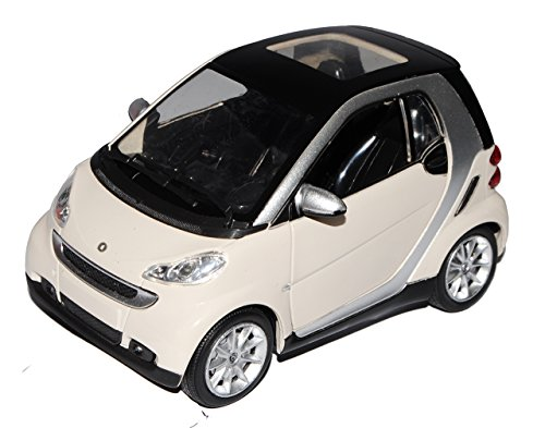Smart Fortwo For Two For2 2 Weiss 1/24 New Ray Modellauto Modell Auto