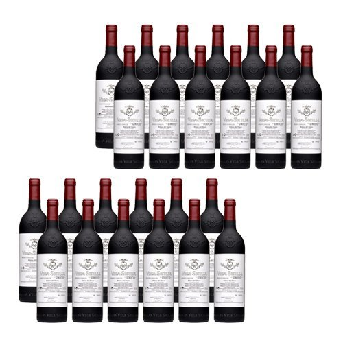 Vega Sicilia Unico Reserva especial - Rotwein - 24 Flaschen