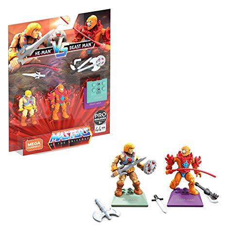 Mega Construx - Masters of The Universe GNN73 - Heroes He-Man vs Beast Man
