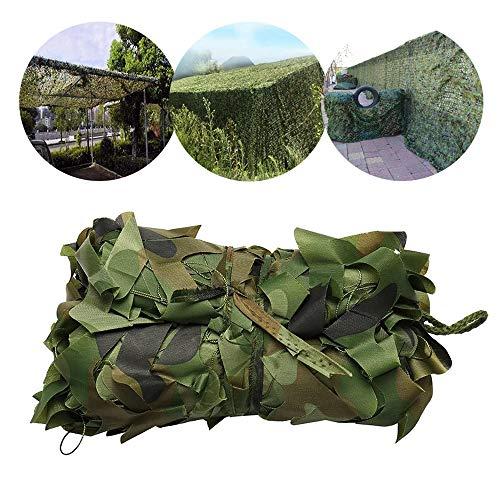 Camo Netting Roll, Camouflage Net Oxford Fabric Hunting, for Sunshade Jungle Bird Watching Car Cover, 2x2m, 2x3m, 2x4m, 2x5m, 3x3m, 3x4m, 5x5m, 5x6m, 6x8m, 7x10m, 8x12m